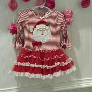 Little Girls Santa Dress